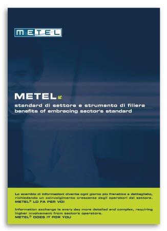 Brochure Design realizza la brochure Aziendale per Metel