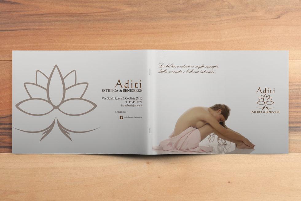 ADITI-CENTRO-ESTETICA-E-BENESSERE-Brochure-Design-copertina-retro
