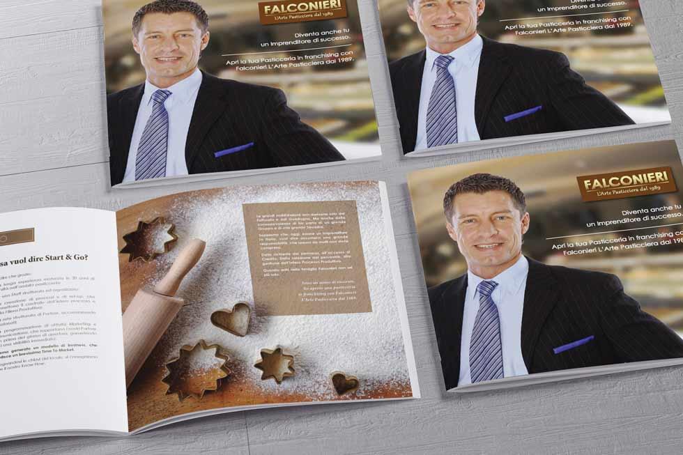 Progetto Grafico Brochure Franchising Falconieri 01