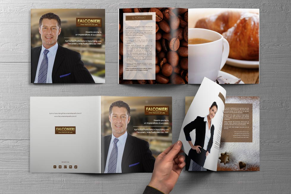 Progetto Grafico Brochure Franchising Falconieri 07