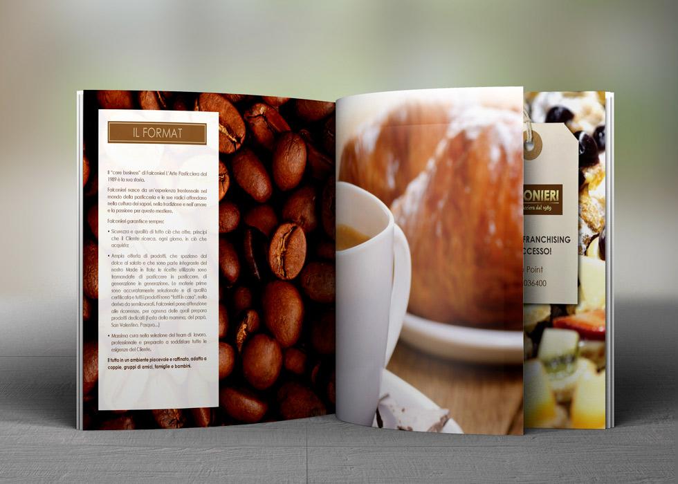 Progetto Grafico Brochure Franchising Falconieri 08