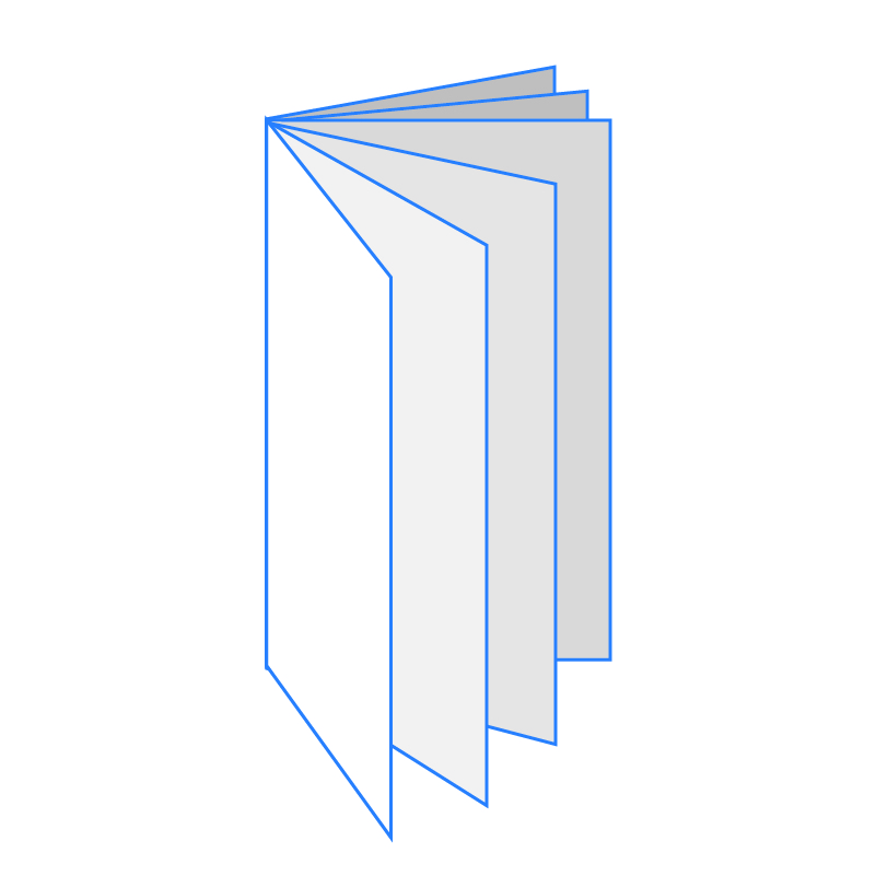 BROCHURE DESIGN Icona Brochure A3 Verticale 12 Facciate