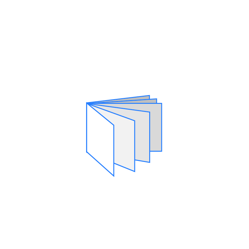 BROCHURE DESIGN Icona Brochure A5 Orizzontale 12 facciate