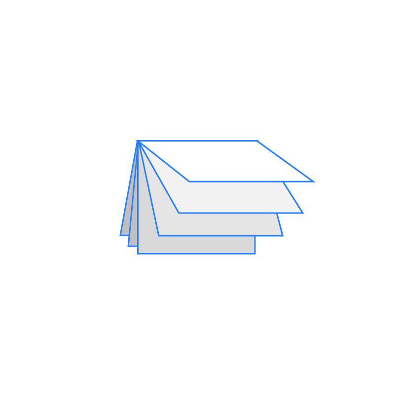 BROCHURE DESIGN Icona Brochure Quadrata Orizzontale 12 facciate