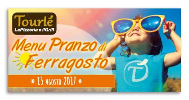 Grafica Flyer campagna Ferragosto per Tourlé