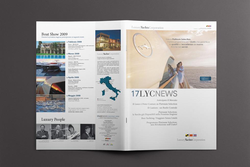 LYC News N 17 progetto grafico house organ mockup 03