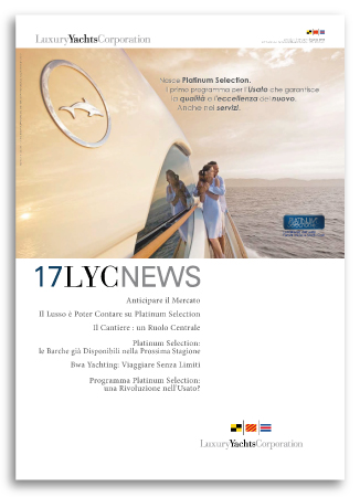 Grafica House Organ LYC News 17 per Luxury Yacht Corporation