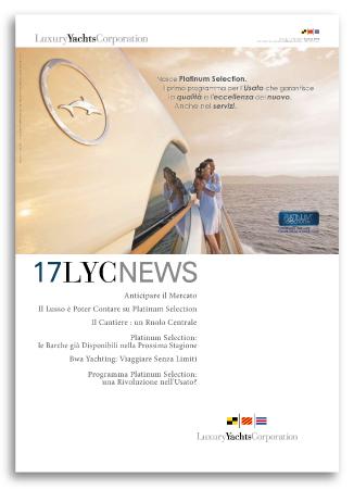 Grafica House Organ LYC News 17 Per Luxury Yacht Corporation