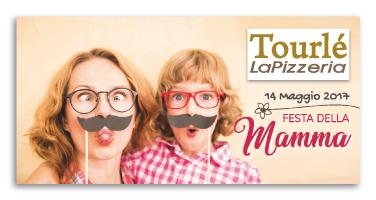 Grafica Flyer campagna Festa della mamma per Tourlé