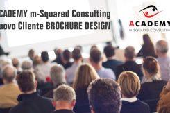 M-Squared Consulting Nuovo Cliente Di Brochure Desing Per Sviluppo Grafica Brochure