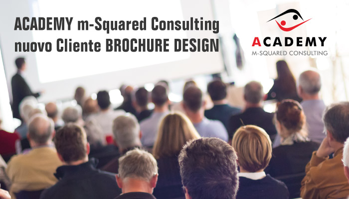 Academy M Squared Consulting Nuovo Cliente Brochure Design