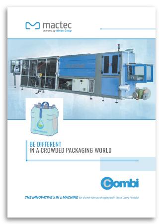 Progetto grafico Brochure di prodotto per Mactec