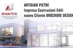 Artigian Pietre Nuovo Cliente Di Brochure Desing Per Sviluppo Grafica 2 Brochure