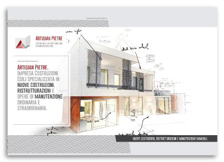 Brochure Design realizza la brochure di Artigian Pietre dedicata ai privati