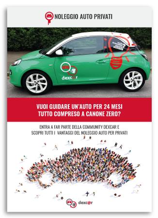 Realizzazione brochure per Noleggio Auto Privati