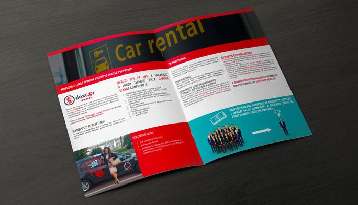 Brcohure Design realizza il progetto grafico della brochure Dexcar Rewards (1)