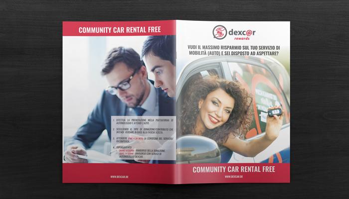 Brcohure Design realizza il progetto grafico della brochure Dexcar Rewards (8)