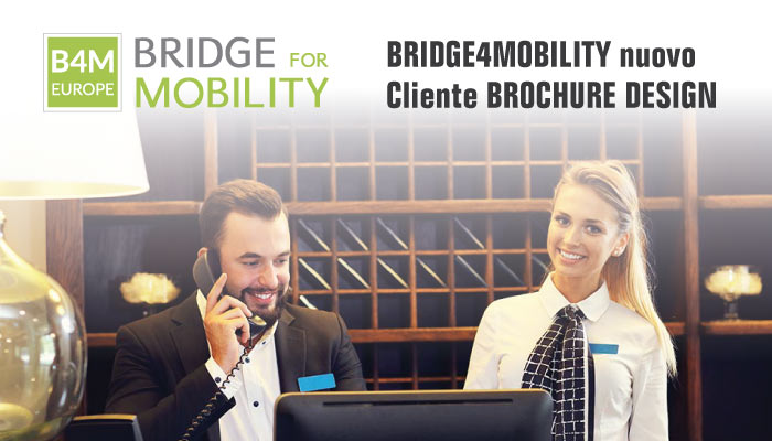 Bridge4mobility Nuovo Cliente Brochure Design