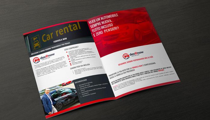 Brochure Design ha realizzato la brochure Dexcar Now (1)