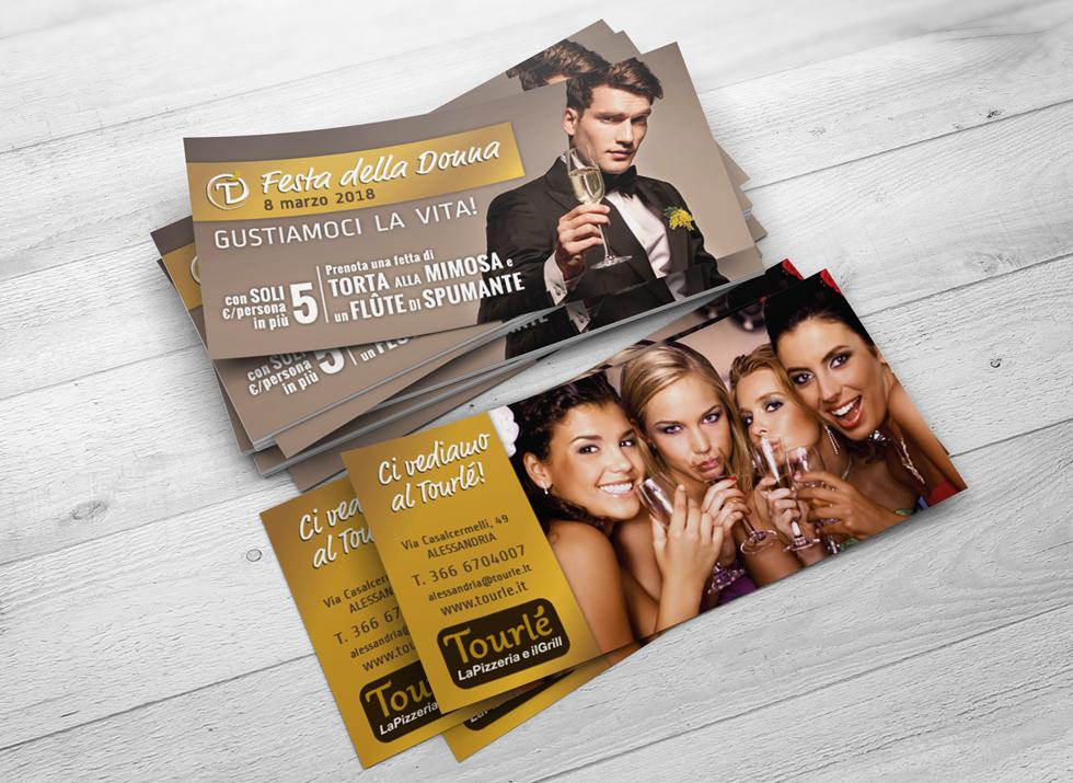 Brochure Design realizza il flyer speciale festa della donna 2018 per Tourlé LaPizzeria e ilGrill (6)