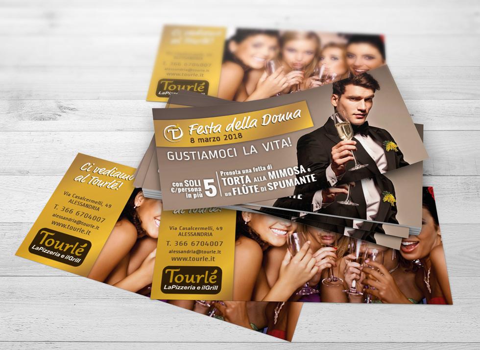 Brochure Design realizza il flyer speciale festa della donna 2018 per Tourlé LaPizzeria e ilGrill (7)