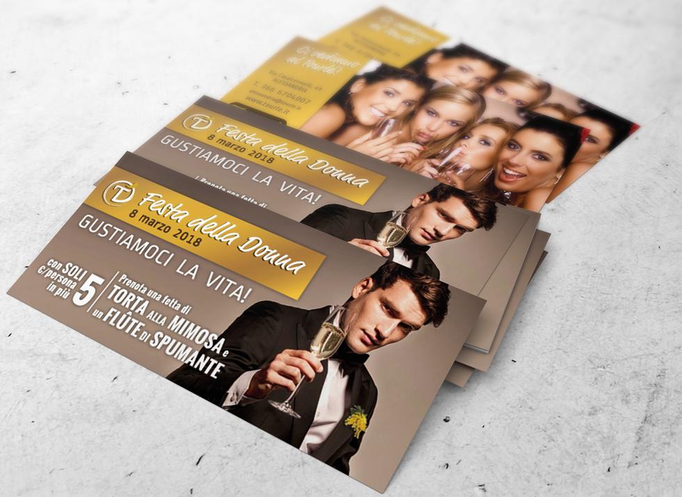 Brochure Design realizza il flyer speciale festa della donna 2018 per Tourlé LaPizzeria e ilGrill (8)