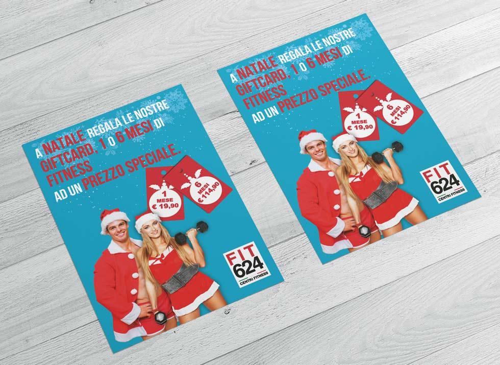 Brochure Design realizza il flyer speciale promo Natale per la palestra FIT624 Bergamo (8)