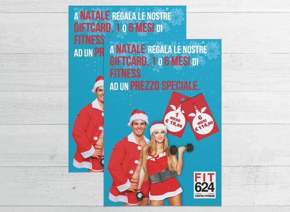 Brochure Design realizza il flyer speciale promo Natale per la palestra FIT624 Bergamo (9)