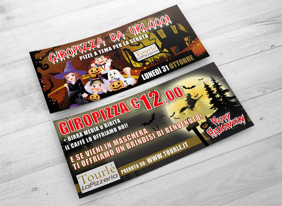 Brochure Design realizza la grafica flyer speciale Halloween 2016 (2)