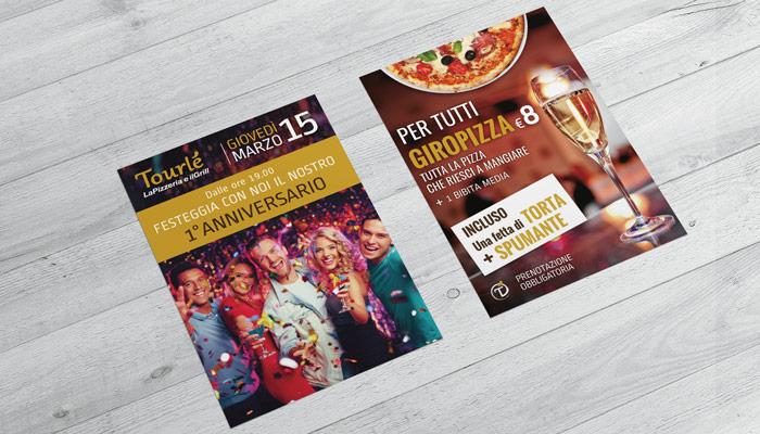 Brochure Desing realizza il flyer per lo speciale anniversario di Tourle Buccinasco (4)