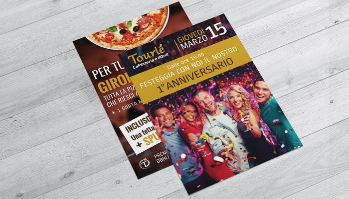 Brochure Desing realizza il flyer per lo speciale anniversario di Tourle Buccinasco (8)