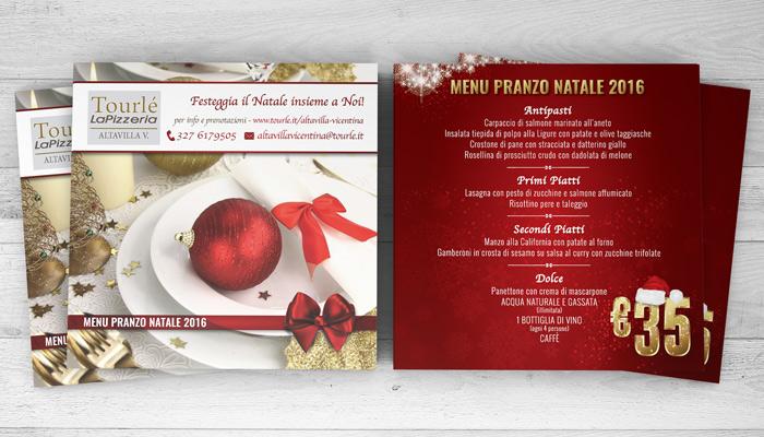 Brochure Desing realizza la grafica del flyer Natale 2016 per Tourlé LaPizzeria e ilGrill (2)
