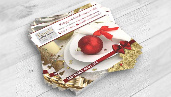 Brochure Desing realizza la grafica del flyer Natale 2016 per Tourlé LaPizzeria e ilGrill (5)