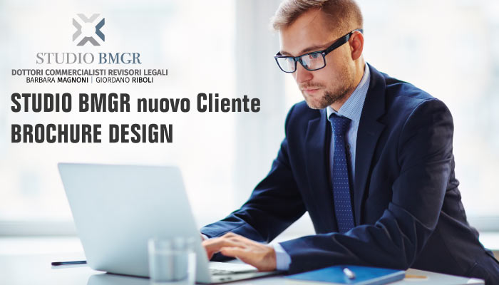 Studio BMGR Nuovo Cliente Brochure Design
