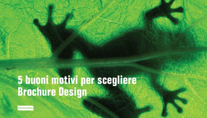 5 Buoni Motivi Per Scegliere Brochure Design